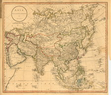 Asia and Asia Map By William Guthrie