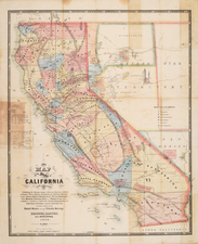 California Map By A.J. Doolittle