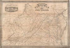 Mid-Atlantic and Southeast Map By West & Johnston