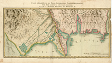 South, Louisiana and Texas Map By Alexandre Blondeau