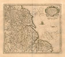 Europe, Europe and British Isles Map By Henricus Hondius / Jan Jansson