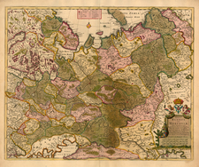 Europe, Russia and Ukraine Map By Frederick De Wit / Christopher Browne