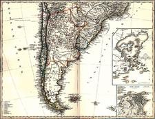 South America Map By Adolf Stieler