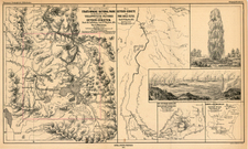 Rocky Mountains Map By F.V. Hayden / Augustus Herman Petermann