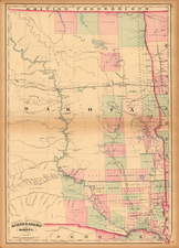 Plains and Rocky Mountains Map By Asher  &  Adams