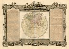 World, World, Eastern Hemisphere, Australia & Oceania, Australia and Oceania Map By Louis Brion de la Tour / Louis Charles Desnos