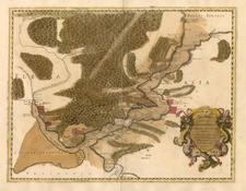 Europe, Turkey, Asia and Turkey & Asia Minor Map By Tipografia del Seminario