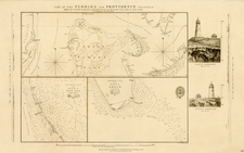 Florida and Caribbean Map By British Admiralty