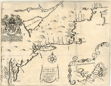 New England, Mid-Atlantic and Southeast Map By Richard Blome