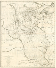 Midwest and Plains Map By Joseph N. Nicollet  &  William Hemsley Emory