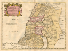Asia and Holy Land Map By Tipografia del Seminario