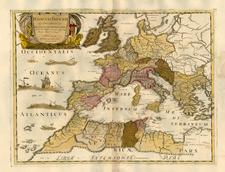 Europe, Europe, Italy and Mediterranean Map By Tipografia del Seminario