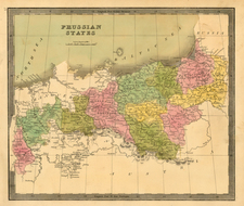 Europe, Poland, Baltic Countries and Germany Map By Jeremiah Greenleaf