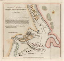 New England Map By Paul de Rapin de Thoyras