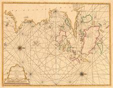 China Map By Johannes II Van Keulen