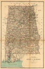 South Map By U.S. General Land Office