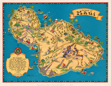 Hawaii, Australia & Oceania and Hawaii Map By Ruth Taylor White