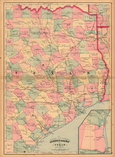Texas Map By Asher  &  Adams