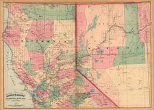 California Map By Asher  &  Adams