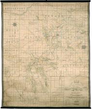 California Map By Rand McNally & Company / Charles Edwin Uren