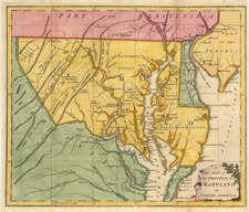 Mid-Atlantic Map By Universal Magazine