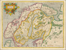 Europe and Scandinavia Map By Gerhard Mercator