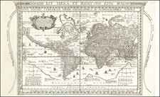 World and World Map By J. Battista Cavazza