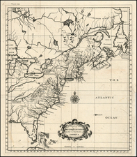 United States, Southeast, Midwest and Canada Map By Thomas Salmon