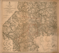 South and Southeast Map By U.S. War Department