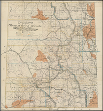 Rocky Mountains Map By Thomas Hunter