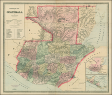 Central America Map By William Bradley