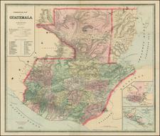 Central America Map By William Bradley
