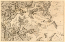 New England Map By John Marshall