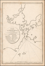 California Map By Jean Francois Galaup de La Perouse / G. Robinson