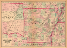 South and Plains Map By Asher / Adams