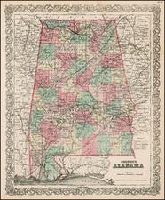 South Map By G.W.  & C.B. Colton
