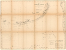 Florida and Caribbean Map By United States Coast Survey