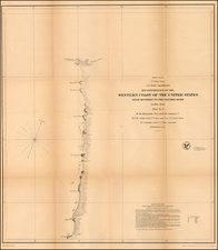 Map By United States Coast Survey
