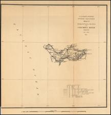 Oregon Map By United States Coast Survey