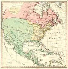 North America Map By S.I. Neele