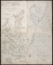 Mid-Atlantic and Southeast Map By William Norman