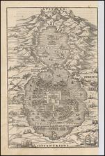 Mexico Map By Giovanni Battista Ramusio