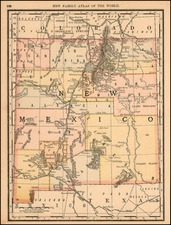 Southwest Map By William Rand / Andrew McNally
