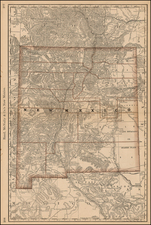 Southwest Map By William Rand  &  Andrew McNally
