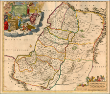 Asia and Holy Land Map By Theodorus I Danckerts