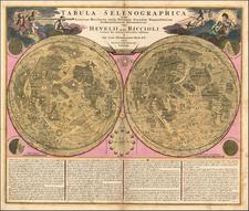 Celestial Maps and Curiosities Map By Johann Baptist Homann