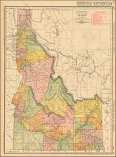 Rocky Mountains Map By William Rand  &  Andrew McNally