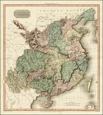 Asia and China Map By John Pinkerton