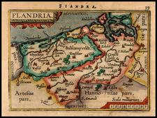 Map By Abraham Ortelius / Johannes Baptista Vrients