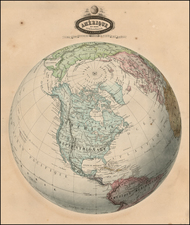 North America Map By F.A. Garnier